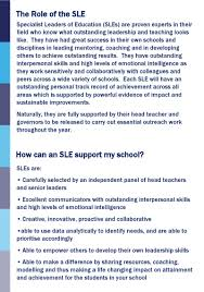 s2s school to school support specialist leaders of education p 1 24