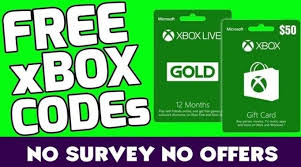 free xbox live codes gold and trial codes for free