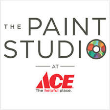 ace the helpful place logo. free store pickup, the paint studio ace helpful place logo