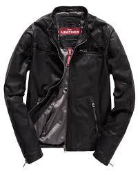 superdry real hero biker leather jacket black superdry ireland n90c6576 superdry tops
