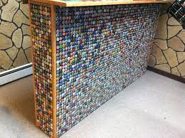 bottle cap furniture. Bottle Cap Bar Furniture