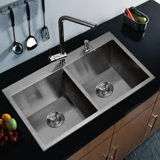 Granite Double Bowl Kitchen Sink Black Undermount Kitchen Sink Single Bowl Best Kitchen Ideas 2017
