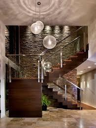 Foyer   Modern Foyer, Wood Staircase And Foyers in Modern Foyer Pendant  Lighting