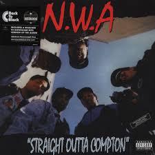 Nwa Straight Outta Compton Back To Black Edition Vinyl Lp 1988