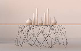 wire furniture. Quantum Is A Dining Table By Jason Phillips Design Designed As An Interpretation Of The Movement Subatomic Particles. Heavy Gauge Steel Wire Base Furniture N