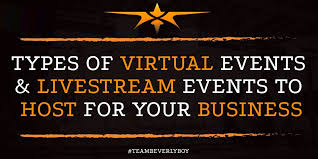 types of virtual events livestream