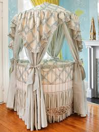 Circular Crib Bedding Round Baby Cribs Baby Crib Designer Nursery Luxury Crib Chelsea