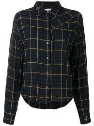 Derek Lam 10 Crosby Plaid Shirt Farfetch Com