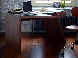 walnut office furniture. gerrit quirky writing desk glass top walnut image 2 office furniture