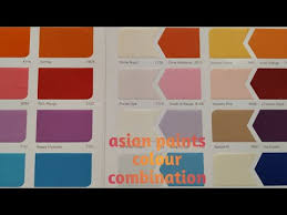 Colour Chart Video Videos Matching The Most Popular Interior Paint Colours