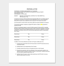 Proposal Letter Template 7 Docs For Word Pdf Format