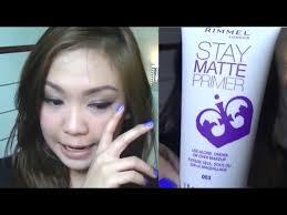 rimmel stay matte primer first
