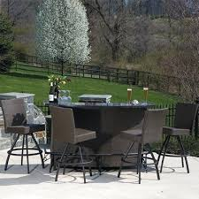 unique bar furniture. Unique Bar Patio Furniture And Set 46 Height Clearance