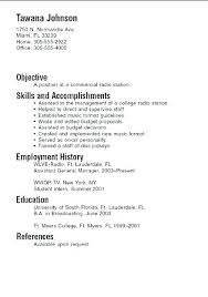 Example Of A Simple Resume Magnificent A Simple Resume Example Putasgae