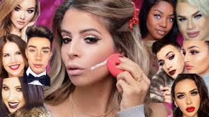 full face using s beauty gurus made me