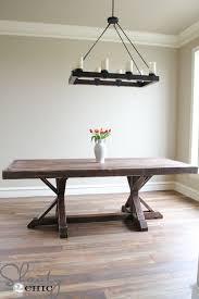 restoration hardware table. Restoration Hardware Inspired Dining Table O