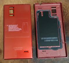 全新拆機LG Optimus GJ E975w 電池背蓋紅 ...