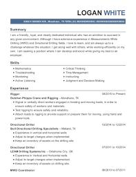 Driller Offsider Resume Samples Best of Best Mwd Field Engineer Resumes ResumeHelp