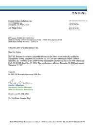 Fdi Announces Conclusion To A Successful Audit