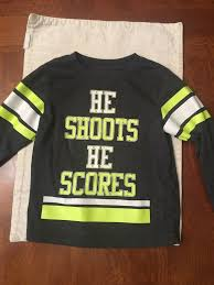 Toddler Boys Okie Dokie Gray Graphic Long Sleeve Shirt Size