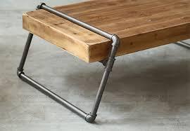 iron pipe furniture. Steel Pipe Furniture. European Minimalist Retro Mining Iron Wood Furniture Small Apartment Living Room Coffee