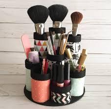 diy makeup brush caddy