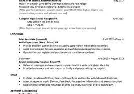 Sample College Freshman Resume Sample College Freshman Resume Resume Samples For Students Sample