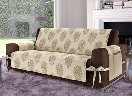 sofa covers. Delighful Covers Sofa Covers Creative Diy Cover Ideas Beige Brown With Ties  KCZYJEZ For Sofa Covers T