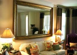 Diy Large Wall Mirror Diy Rustic Wood Frame Mirrorlarge Wall Mirror Metal Large