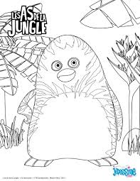 Pingl Par Lmi Kids Sur The Jungle Bunch Les As De La Jungle S Dessin Coloriage Animaux Jungle Imprimer L