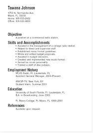 Sample College Freshman Resume College Student Resume Objective