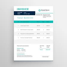 Modern Invoice Modern Invoice Template Design For Your Business Download Free