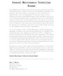 Industrial Maintenance Mechanic Sample Resume industrial maintenance mechanic resume template tomoney 56