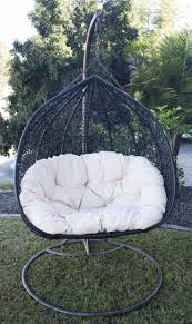 Outdoor Furniture Hanging Egg Chair - Best Spray Paint for Wood Furniture  Check more at http