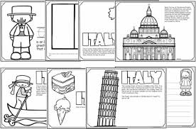 Color the pictures online or print them to color them with your paints or crayons. Free Read Color And Learn About Italy
