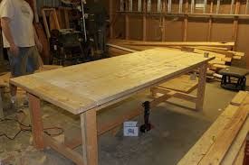 Home Made Kitchen Table Homemade Dining Room Table Gooosencom