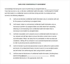 Employee Confidentiality Agreement 32+ Word Confidentiality Agreement Templates Free Download | Free ...