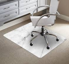 accessories awesome rectangle white granite mat for office chair chrome swivel office chair white leather seat