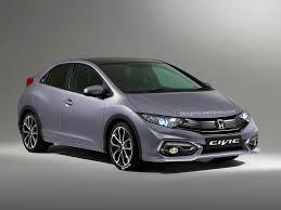honda civic hatchback 2015. Brilliant Hatchback European 2015 Honda Civic Hatchback Facelift Rendered And Detailed Inside A