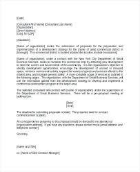 Sample Proposal Letter For Consultancy Services The Proposal Consultancy Format Project Increase Your Prices