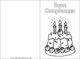 Biglietto Auguri Compleanno Da Stampare E Colorare Lacurt