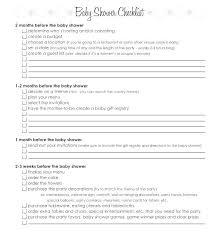 Gift Registry Template Registering For Baby Shower Bridal