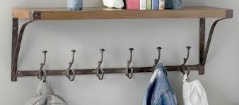 Coat Rack With Hooks Modern Entry Hall Storage AllModern 77