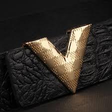 international brand designer mens belt style luxury leather