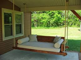 outdoor hanging furniture. Porch Swing Bed Plans Outdoor Hanging Chairs Pinterest 5 Furniture