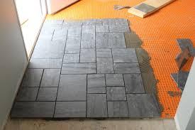 How To Install Ceramic Tile Floor In Kitchen  Kassus - Installing bathroom floor