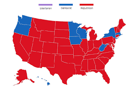 Election Map How America Voted In Every Election Since 1824