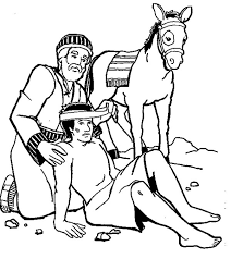 Small Picture Amazing Story of Good Samaritan Coloring Page NetArt