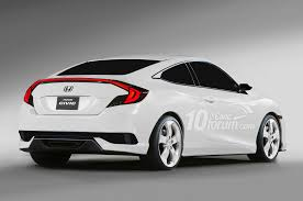 honda civic 2016 coupe. 2016hondacivicrenderings1 honda civic 2016 coupe