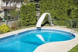 Fine Backyard Pool With Slides Slide Y Throughout Models Design